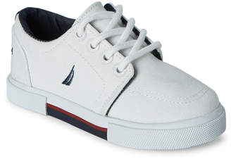 Nautica Toddler Boys) White Berrian Canvas Low-Top Sneakers