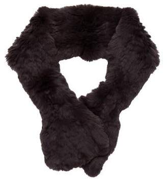 Yves Salomon Rabbit Fur Stole