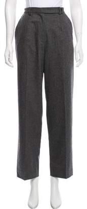 Luciano Barbera High-Rise Wool Pants