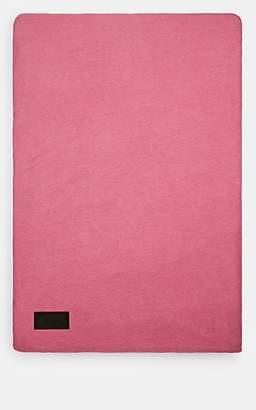 MAGNIBERG Cotton Jersey Queen Duvet Cover - Pink
