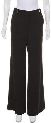 Ramy Brook Mid-Rise Wide-Leg Pants