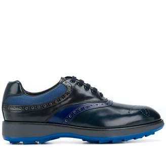 Prada Embellished lace-up derby shoes