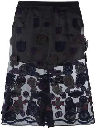 Sacai patched skirt