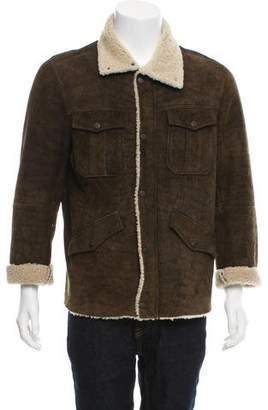 John Varvatos Shearling Jacket