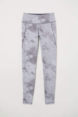 H&M Sports Tights - Gray