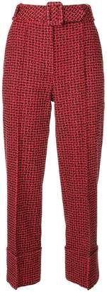 Alexander Wang belted waist trousers