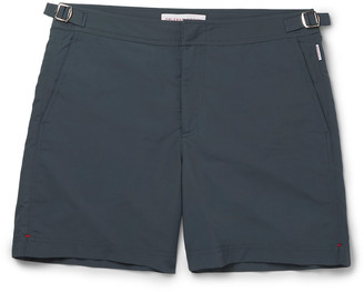 Orlebar Brown Bulldog Mid-Length Swim Shorts $230 thestylecure.com