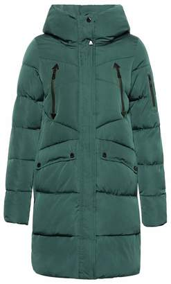 ICEbear Women's Long Down Jacket Windproof Hooded Puffer Coat Parka for Winter (,L)