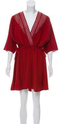 IRO Dolman Embellished Dress