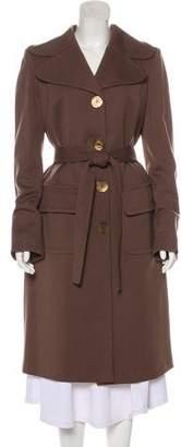 Emilio Pucci Wool Long Coat