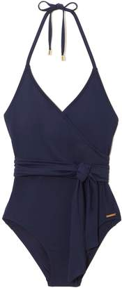 Vince Camuto Wrap One-piece Swimsuit