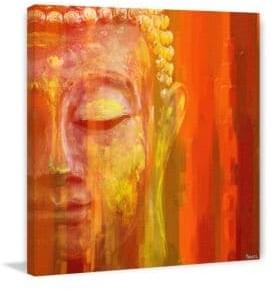Parvez Taj Buddha Canvas Print