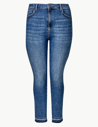 Marks and Spencer CURVE High Waist Skinny Leg Jeans