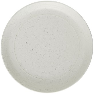 Grayson White speckled stoneware side plate D22cm