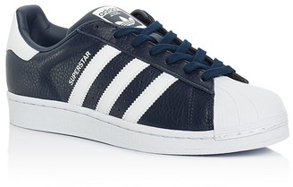 Adidas Men's Superstar Lace Up Sneakers $80 thestylecure.com
