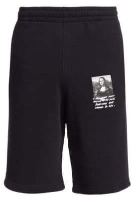 Off-White Mona Lisa Sweat Shorts