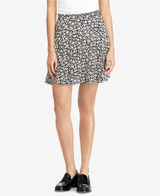 Polo Ralph Lauren Floral-Print Crepe Skirt