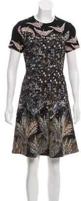 Valentino Garden Couture Jacquard Dress