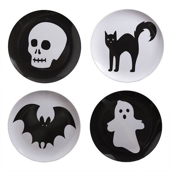 Halloween Melamine Plates
