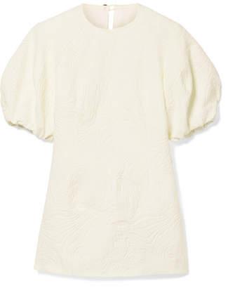 Beaufille - Talos Open-back Cotton-blend Jacquard Top - Cream