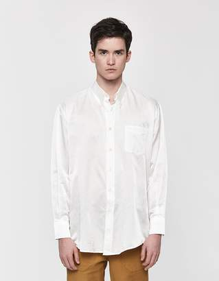 Our Legacy Less Borrowed Button Down Shirt in White