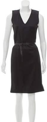 Reed Krakoff Virgin Wool Belted Dress