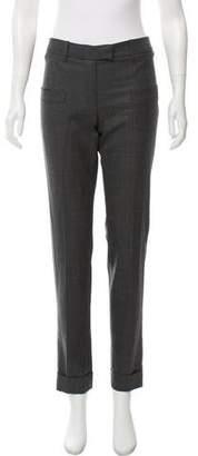 Barbara Bui Mid-Rise Wool Pants
