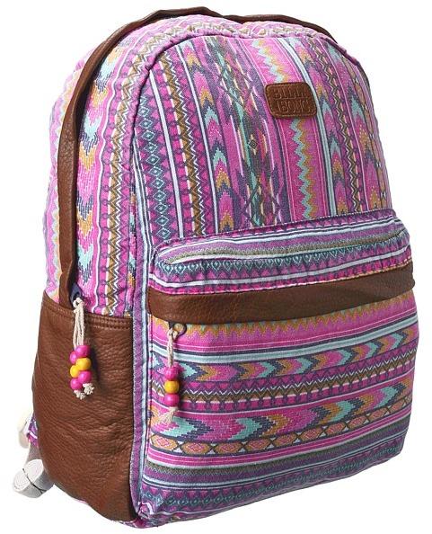 Billabong Burning Up Backpack (Denim) - Bags and Luggage