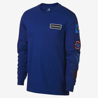 Converse Garage Patch Long Sleeve Mens T-Shirt