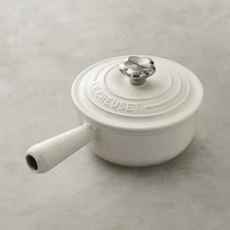 Le Creuset Sauce Pot with Flower Knob
