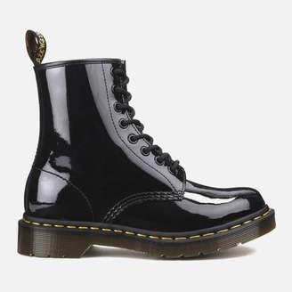17b9b87c154c Dr. Martens Women's 1460 Patent Lamper 8-Eye Boots
