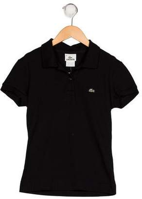 Lacoste Girls' Collared Top