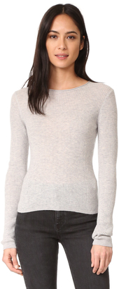 Vince Cropped Cashmere Sweater $255 thestylecure.com