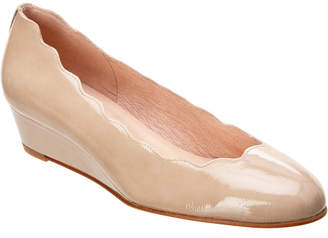 French Sole Dickens Patent Wedge