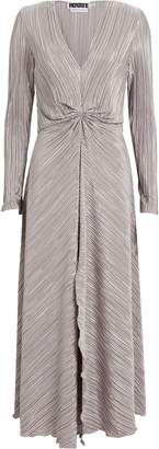 Rotate by Birger Christensen No. 7 Raindrops Gathered Plisse Dress