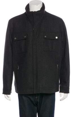 Michael Kors Wool-Blend Layered Jacket