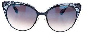 Jimmy Choo Accented Wayfarer Eyeglasses