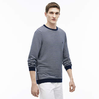Lacoste (ラコステ) - 『Made in France』 ボーダーコットンオットマンニット