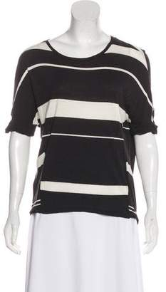 AllSaints Striped Short Sleeve Top