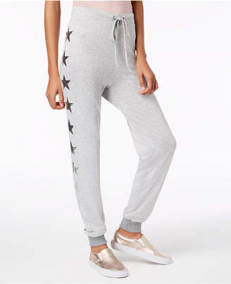 Material Girl Active Juniors' Star-Print Jogger Pants