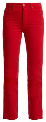 Bliss And Mischief - Collector Fit High Rise Jeans - Womens - Red