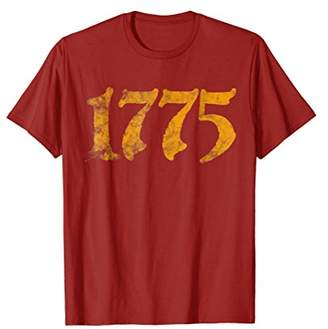Vintage History Wear 1775 Fun Shirts for Men and Dads