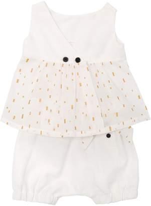 Viscose Piqué Top & Cotton Diaper Cover