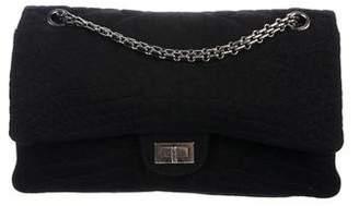 Chanel Jersey Croc Reissue Double Flap Bag