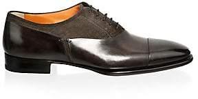Santoni Men's Classic Leather Oxfords