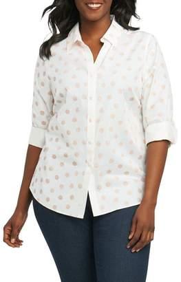 Foxcroft Mary Seashell Shirt