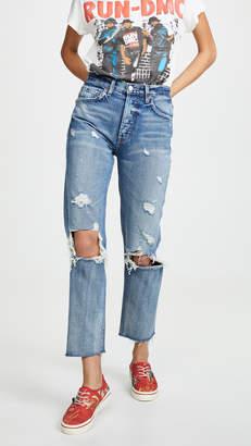 Boyish Tommy High Rise Straight Jeans