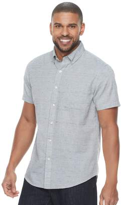 Sonoma Goods For Life Men's SONOMA Goods for Life Modern-Fit Linen-Blend Button-Down Shirt