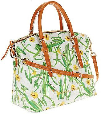 """As Is"" Dooney & Bourke Daffodil Domed Satchel $158 thestylecure.com"