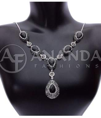 Ananda 925silver Onyx Necklace